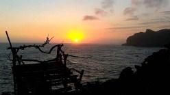 pantai timang sunset